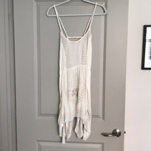 Free people Meadows of Medallion dress white XS